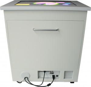The Virttable (Versatile Illumination Touch Table)