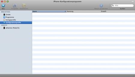 iPhone-KonfigurationsprogrammSchnappschuss001