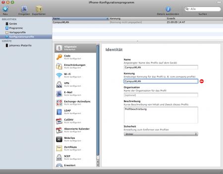 iPhone-KonfigurationsprogrammSchnappschuss003